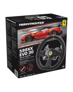 Simracing Thrustmaster F599XX Evo 30 Add-on - Alcantara Edition